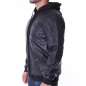 Preview: PellePelle │ Übergangsjacke │ Mix-Up Hooded pitchblack
