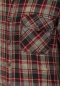 Preview: Timezone Washed Flanell Shirt Black Red Crossed