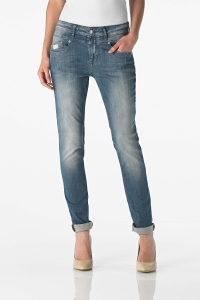 "Good Morning Universe – Damen Jeans – ""Anna"" in der Waschung light used"