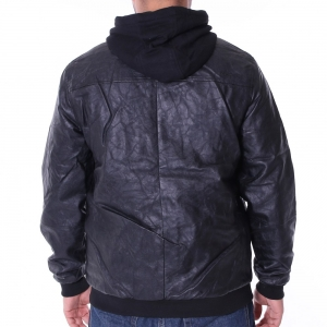 PellePelle │ Übergangsjacke │ Mix-Up Hooded pitchblack