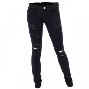 Distressed Jeans von Cars Jeans and Casuals in Black