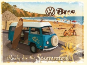 VW Bulli ready for the summer