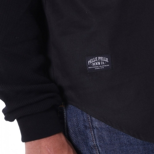 PellePelle │ double sleeve shirt │ black
