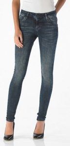 Good Morning Universe Damen Jeans │ Tesla Deco │ Superslim │ Blue/Black