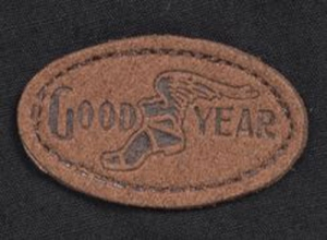 goodyear vintage garage logo-patch