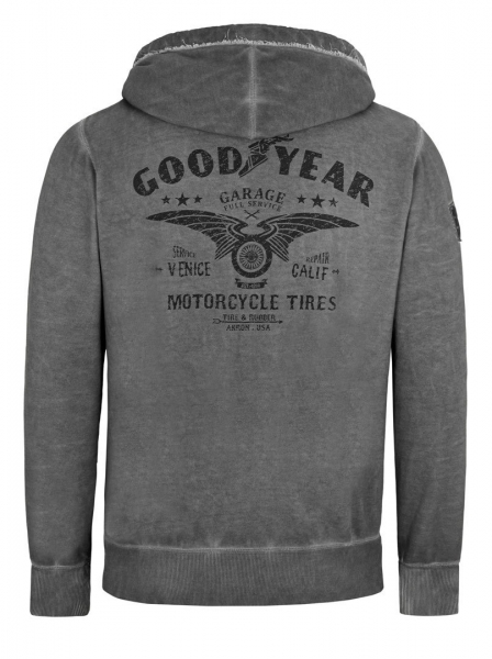 "Goodyear Fashion│ Kapuzensweatjacke ""Evanstone"""