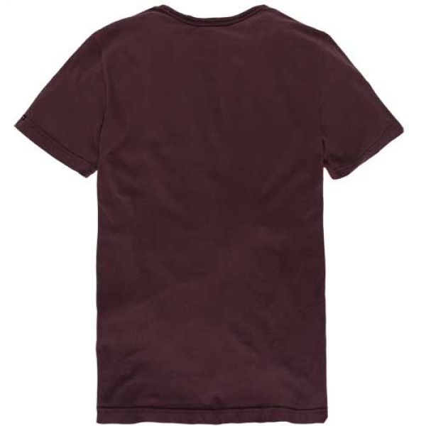 PME T-Shirt Short Sleeve Bordeaux back