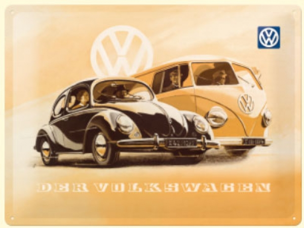 VW Beetle and bulli